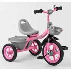 Детский трехколесный велосипед Best Trike BS-1142 резиновые колеса