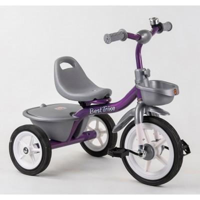 Детский трехколесный велосипед Best Trike BS-4298 резиновые колеса