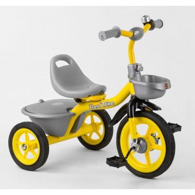 Детский трехколесный велосипед Best Trike BS-9603 резиновые колеса