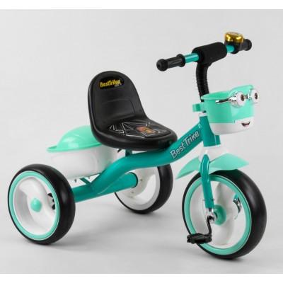 Детский трехколесный велосипед Best Trike 80627 со светящимися колесами и музыкой
