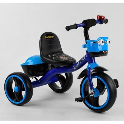 Детский трехколесный велосипед Best Trike 32102 со светящимися колесами и музыкой