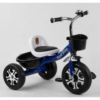 Детский трехколесный велосипед Best Trike LM 6122 СИНИЙ