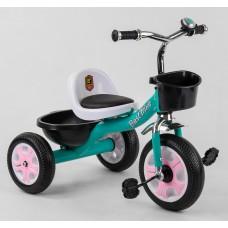 Детский трехколесный велосипед Best Trike LM 7309 БИРЮЗОВЫЙ