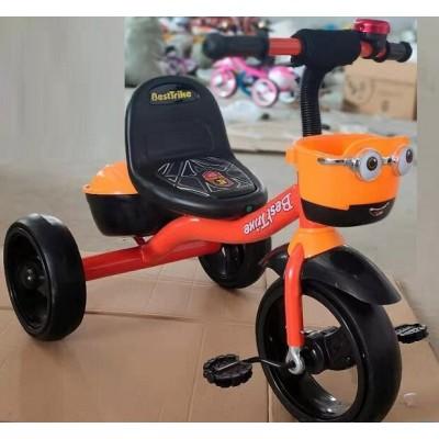 Детский трехколесный велосипед Best Trike 19840 со светящимися колесами и музыкой