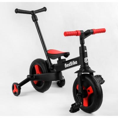 Детский велосипед-трансформер Best Trike 23031 КРАСНЫй (складной)