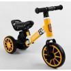 Детский трехколесный велосипед-велобег 2в1 Best Trike 71616 ЖЕЛТЫЙ