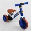 Детский трехколесный велосипед-велобег 2в1 Best Trike 96021 СИНИЙ
