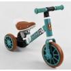 Детский трехколесный велосипед-велобег 2в1 Best Trike 73543 БИРЮЗОВЫЙ