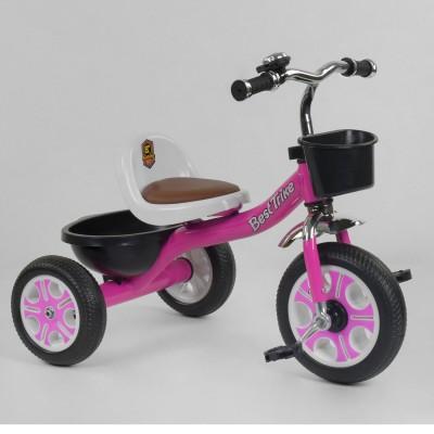 Детский трехколесный велосипед Best Trike LM 2806 РОЗОВЫЙ