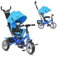 Детский трехколесный велосипед Turbo Trike M 3113-5 Голубой