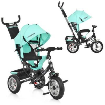 Детский трёхколёсный велосипед Turbo Trike М 3113A надувные колеса