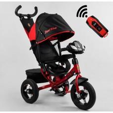 Детский трехколесный велосипед c USB 3390-28-506 Best Trike + пульт КРАСНЫЙ
