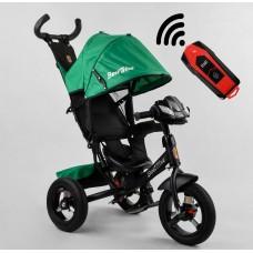 Детский трехколесный велосипед с USB 3390-59-833 Best Trike + пульт ЗЕЛЕНЫЙ