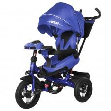 Детский трехколесный велосипед TILLY IMPULSE T-386 + пульт Синий