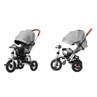 Детский трехколесный велосипед Tilly Travel T-387/1 Серый лён