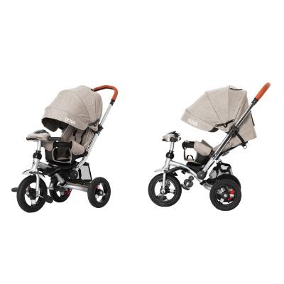 Детский трехколесный велосипед Tilly Travel T-387/1 Бежевый лён