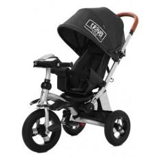 Детский трехколесный велосипед Tilly Travel T-387 Черный лён