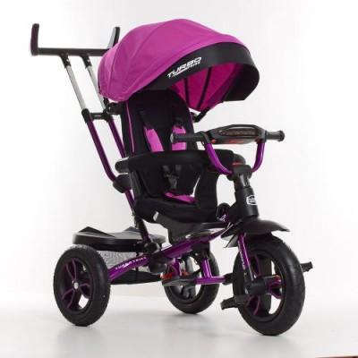 Детский трехколесный велосипед M 4058-8 Turbo Trike с поворотным сидением ФИОЛЕТОВЫЙ