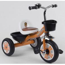 Детский трехколесный велосипед Best Trike LM 5207 ОРАНЖЕВЫЙ