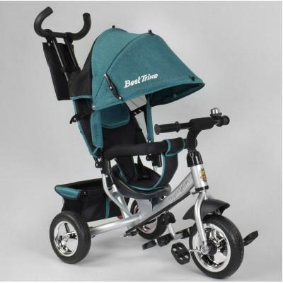 Детский трёхколёсный велосипед Best Trike 6588-16-481 БИРЮЗОВЫЙ ЛЁН
