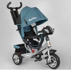 Детский трёхколёсный велосипед Best Trike 6588-20-203 БИРЮЗОВЫЙ с фарой