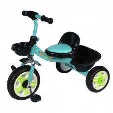 Детский  трехколесный велосипед   DRIVE ORIGINAL Голубой
