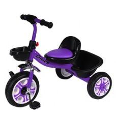 Детский  трехколесный велосипед  DRIVE ORIGINAL Фиолетовый