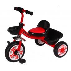 Детский  трехколесный велосипед DRIVE ORIGINAL Красный