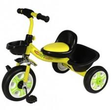 Детский  трехколесный велосипед   DRIVE ORIGINAL  Жёлтый