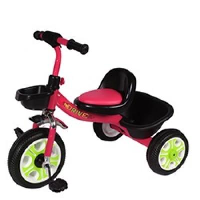Детский  трехколесный велосипед  DRIVE ORIGINALКрасный