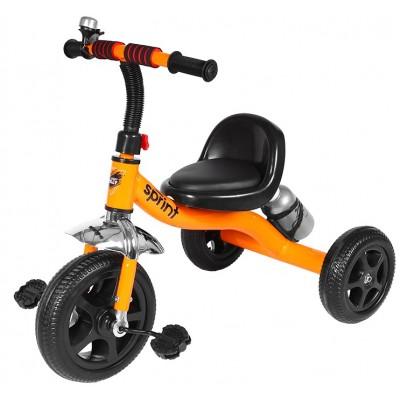 Детский трехколесный велосипед SPRINT Оранжевый