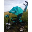 Детский трехколесный велосипед TILLY STORM T-349/2 Бирюзовій