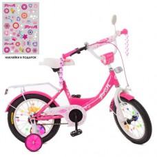 Детский двухколесный велосипед PROFI XD1213 Princess 12 дюймов