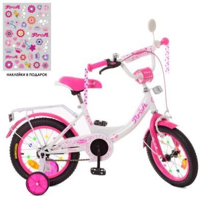 Детский двухколесный велосипед PROFI XD1214 Princess 12 дюймов