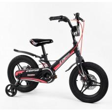 Детский двухколесный велосипед Corso MG-01025 магниевая рама, дисковые тормоза 14 дюймов