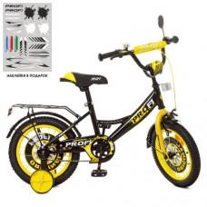 Детский двухколесный велосипед XD1443 Profi Original Boy 14 дюймов