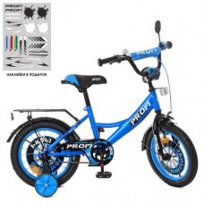 Детский двухколесный велосипед XD1444 Profi Original Boy 14 дюймов