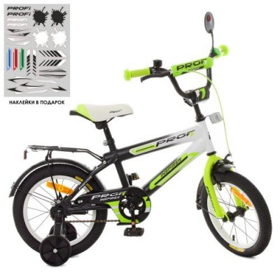 Детский двухколесный велосипед SY1454 Profi Inspirer 14 дюймов