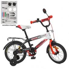Детский двухколесный велосипед SY1455 Profi Inspirer 14 дюймов