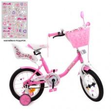 Детский двухколесный велосипед Y1481-1K Profi Ballerina 14 дюймов