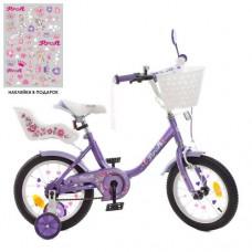 Детский двухколесный велосипед Y1483-1K Profi Ballerina 14 дюймов