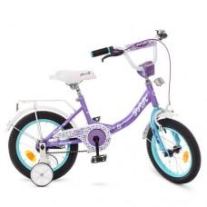 Детский двухколесный велосипед Y1415 Profi Princess 14 дюймов
