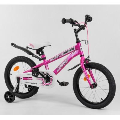 Детский двухколесный велосипед Corso R-16416 16 дюймов