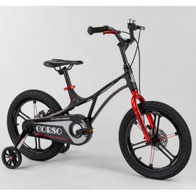 Детский двухколесный велосипед Corso LT-40800 18 дюймов магниевый