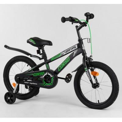 Детский двухколесный велосипед Corso R-16218 16 дюймов