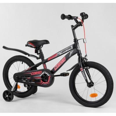 Детский двухколесный велосипед Corso R-16119 16 дюймов
