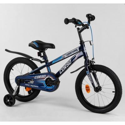 Детский двухколесный велосипед Corso R-16515 16 дюймов