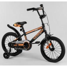 Детский двухколесный велосипед Corso ST-16908 16 дюймов с противоударными дисками