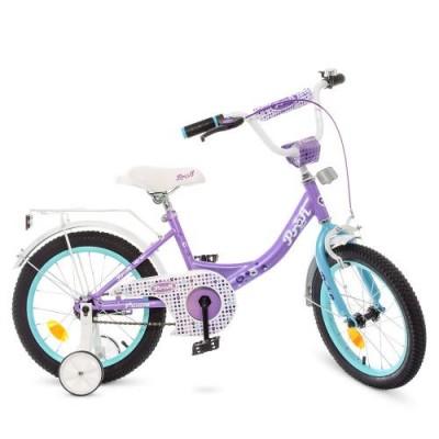 Детский двухколесный велосипед Y1615 Profi Princess 16 дюймов