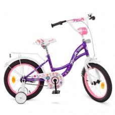 Детский двухколесный велосипед Y1622-1 Profi Bloom 16 дюймов